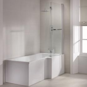 Photo of Sommer L Shaped 1700mm Shower Bath