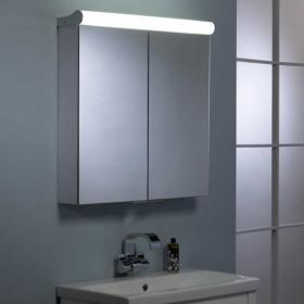 Roper Rhodes Latitude Aluminium Bathroom Cabinet with Lights
