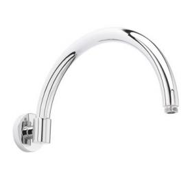 Old London 315mm Wall Mounted Curved Shower Arm