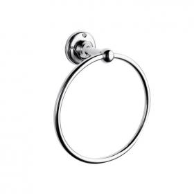 Hudson Reed Traditional Chrome Towel Ring