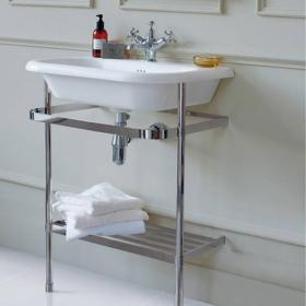 Clearwater Large Traditional Basin With Washstand