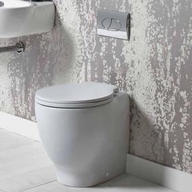 Roper Rhodes Memo 510mm Back To Wall Toilet & Soft Close Seat