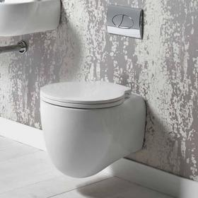 Roper Rhodes Memo 510mm Wall Hung Toilet & Soft Close Seat