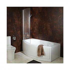 Phoenix Napoli  1700 Shower Bath, Bath Screen & Bath Panels