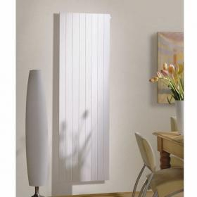 Redroom By Barwick Nova Vertical White Radiator with Fins