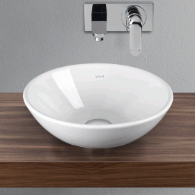 Vitra Designer Options 380mm Geo Round Countertop Basin