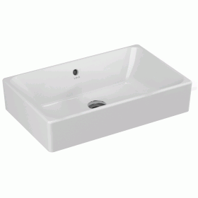 Vitra Designer Options 600mm Nuo Rectangular Countertop Basin