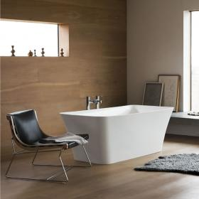 Clearwater Palermo Petite Clear Stone Freestanding Bath