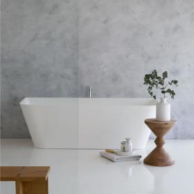 Clearwater Patinato Grande Clear Stone Freestanding Bath