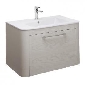 Bauhaus Celeste Pebble 80 Vanity Unit and Ceramic Basin
