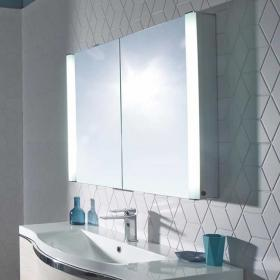 Roper Rhodes Perception Illuminated Recessible Mirror Cabinet