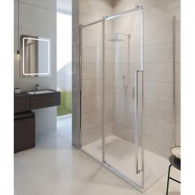 Photo of Simpsons Pier Single Slider Shower Door