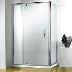 Kudos Original Straight Pivot Wide Shower Door