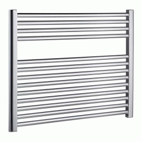 Radox Premier Flat Chrome Towel Radiator - Horizontal