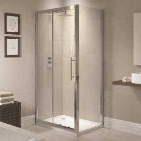 April Prestige Sliding Shower Door