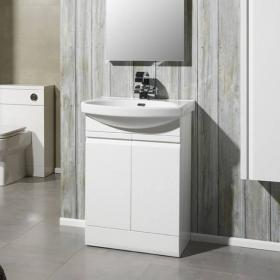 Roper Rhodes Profile White 600mm Freestanding Unit