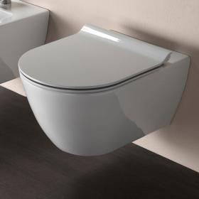 Photo of GSI Pura 50 Rimless Wall Hung Toilet & Soft Close Seat