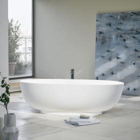 Clearwater Puro 1700mm Clear Stone Freestanding Bath