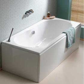 Pura Wave 1800 x 800mm Double Ended Bath