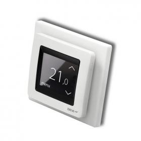 Devi Reg Touch Pure White Thermostat