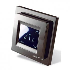 Photo of Devi Reg Touch Pure Black Thermostat