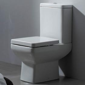 Tavistock Q60 Close Coupled Toilet, Cistern and Seat