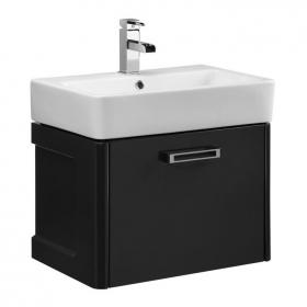 Tavistock Q60 Graphite 575 Wall Mounted Vanity Unit