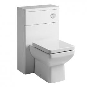 Tavistock Q60 White Back To Wall WC Unit