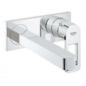 Photo of Grohe Quadra Wall Mounted Basin Mixer with 215mm Spout