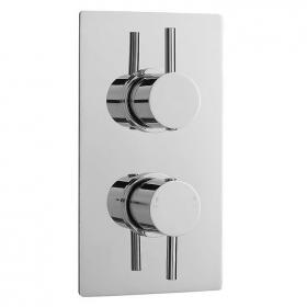 Ultra Quest Twin Concealed Shower Valve