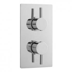 Ultra Quest Twin Square Shower Valve With Diverter