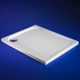 Blu-Gem2 900 x 760mm Rectangle Shower Tray & Waste