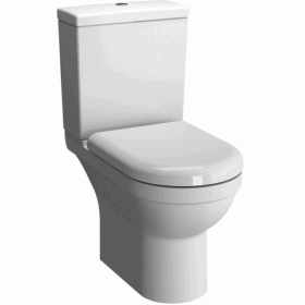 Vitra S50 Rimless Close Coupled WC Pan - Open Back
