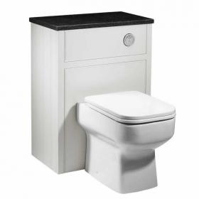 Roper Rhodes Hampton Chalk White Back To Wall WC Unit