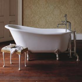 Arcade Sackville 1690mm Natural Stone Freestanding Bath With Feet