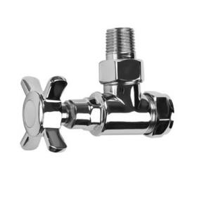 SBH Traditional Style Angled Radiator Valves