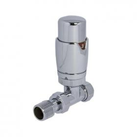 SBH Thermostatic Straight Radiator Valves