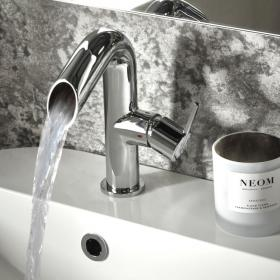 Roper Rhodes Scope Open Spout Basin Mixer with Waste