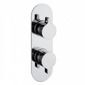Photo of Crosswater Svelte Thermostatic Shower Valve with 3 Way Diverter
