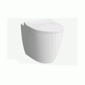Vitra Designer Sento Back To Wall WC & Seat