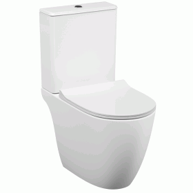 Vitra Designer Sento Open Back Close Coupled WC & Seat