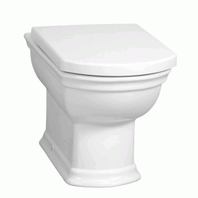 Vitra Serenada Back To Wall Toilet & Seat