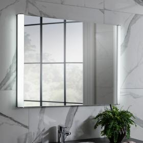 Bauhaus Serene 800mm LED Illuminated Bathroom Mirror