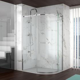 Merlyn 8 Series 1 Door Offset Quadrant Shower Door