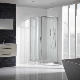 Aquaglass 8mm Sleek Quadrant Shower Enclosure