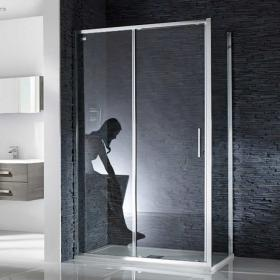 Aquaglass Sleek 6mm Sliding Shower Door