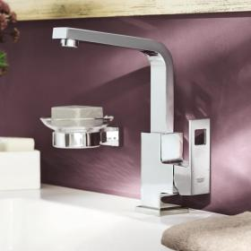 Grohe Eurocube Side Lever Basin Mixer & Pop up Waste