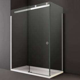 Photo of Merlyn 10 Series Sliding Shower Door With Side Panel