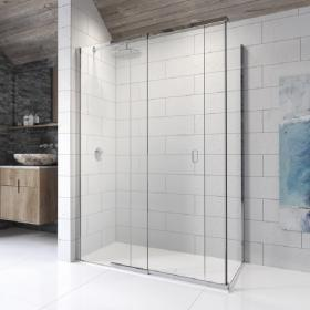 Kudos Pinnacle 8 Sliding Shower Door with Side Panel