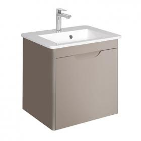 Bauhaus Solo Matt Coffee 500mm Vanity Unit and Basin